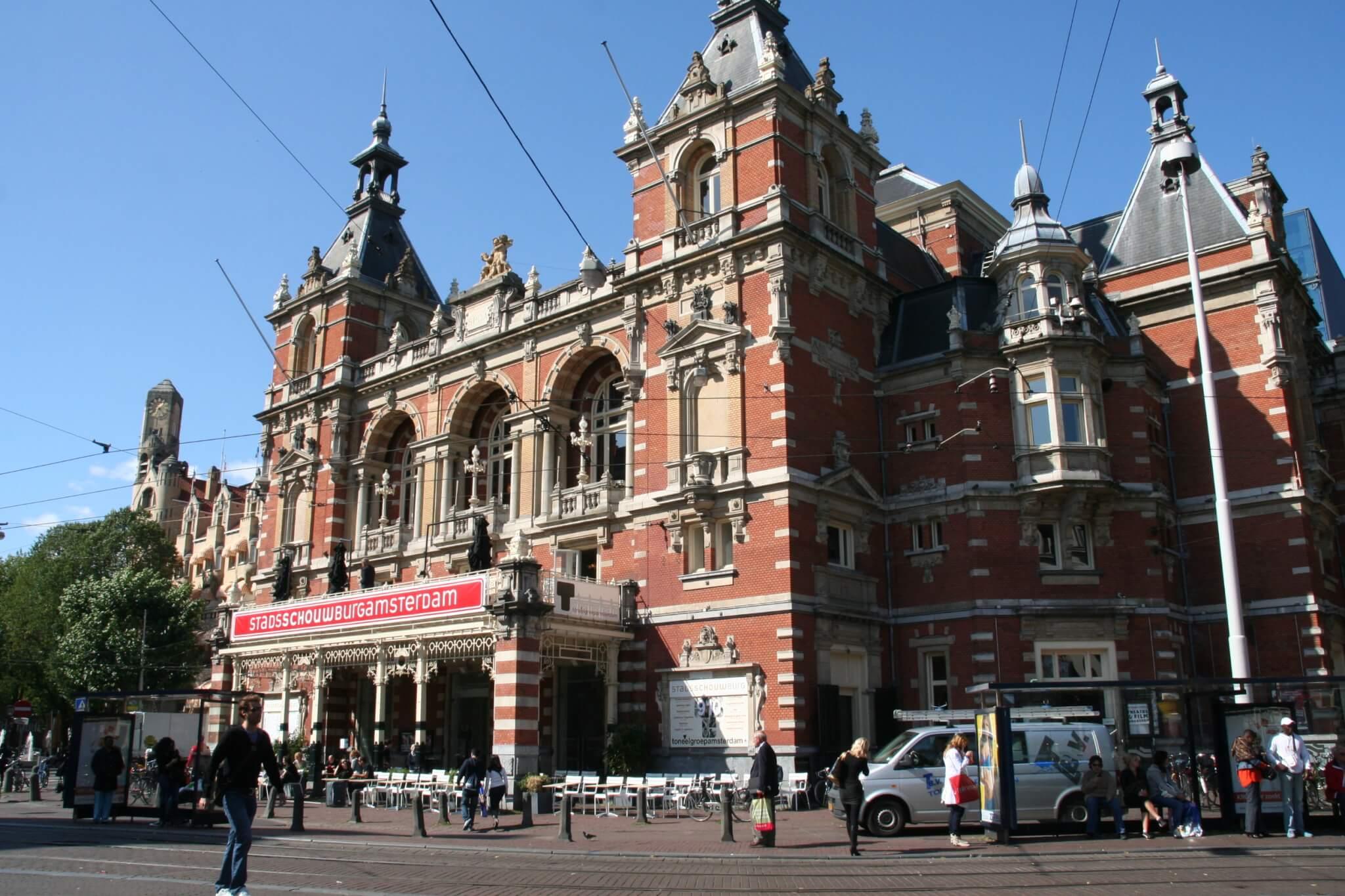 Stadsschouwburg Amsterdam nabij Park Hotel