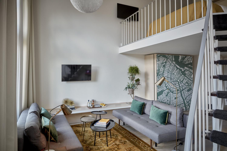 Break out Suite and Split Level Suite Park Hotel Amsterdam Rooms