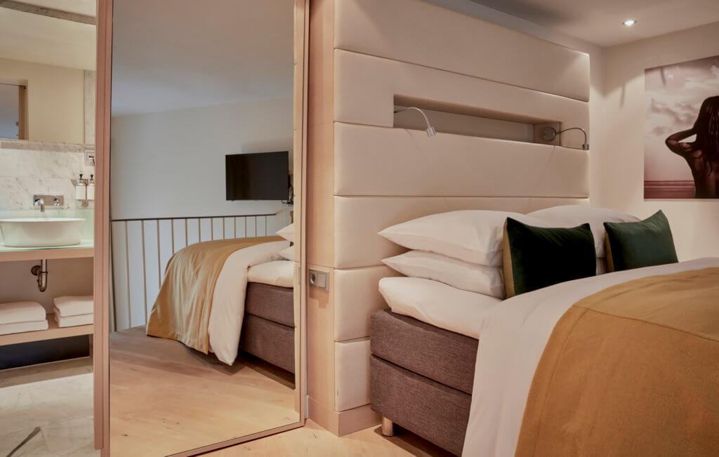 Split Level Loft Suite Park Hotel Amsterdam Room Details