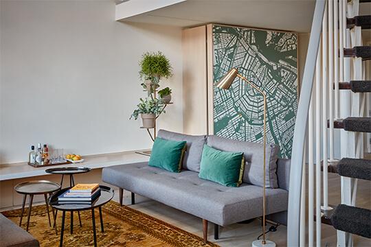 park-hotel-amsterdam-split-level-loft-suite